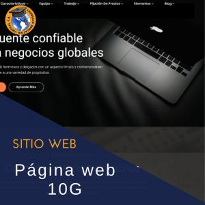 Página web 10g