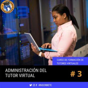 Curso Administración del Tutor Vitual